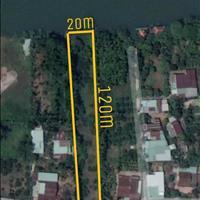 Khu đất hơn 2 sào ven sông, có 300 thổ cư tại xã Bình Hòa giá rẻ