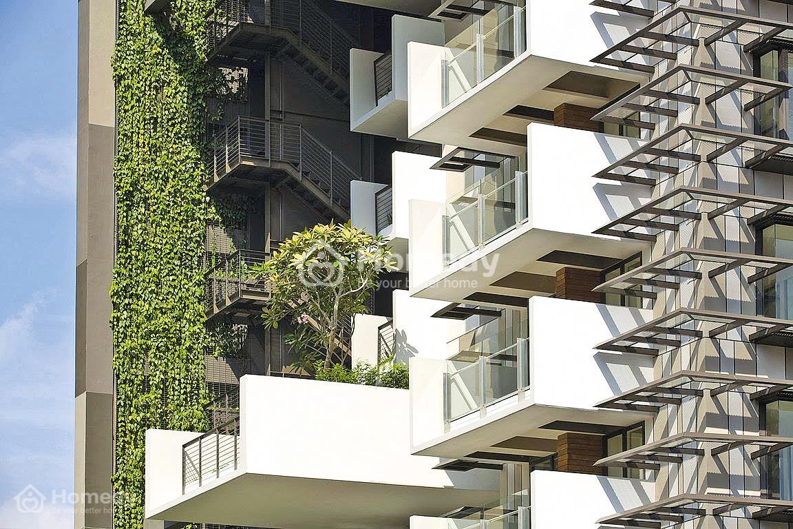 Nhà mặt phố hướng nắng: Giải pháp giảm nhiệt thông minh