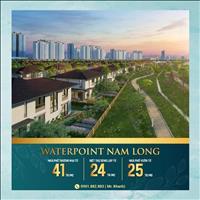 Sở hữu biệt thự sân vườn chỉ từ 2,7tỷ - Waterpoint Nam Long - Ngay Bến Lức Long An