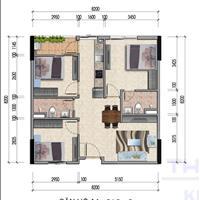 Bán căn hộ 2PN nhà ở xã hội CT4 Kim Chung - Đông Anh - Hà Nội giá 13.25 triệu