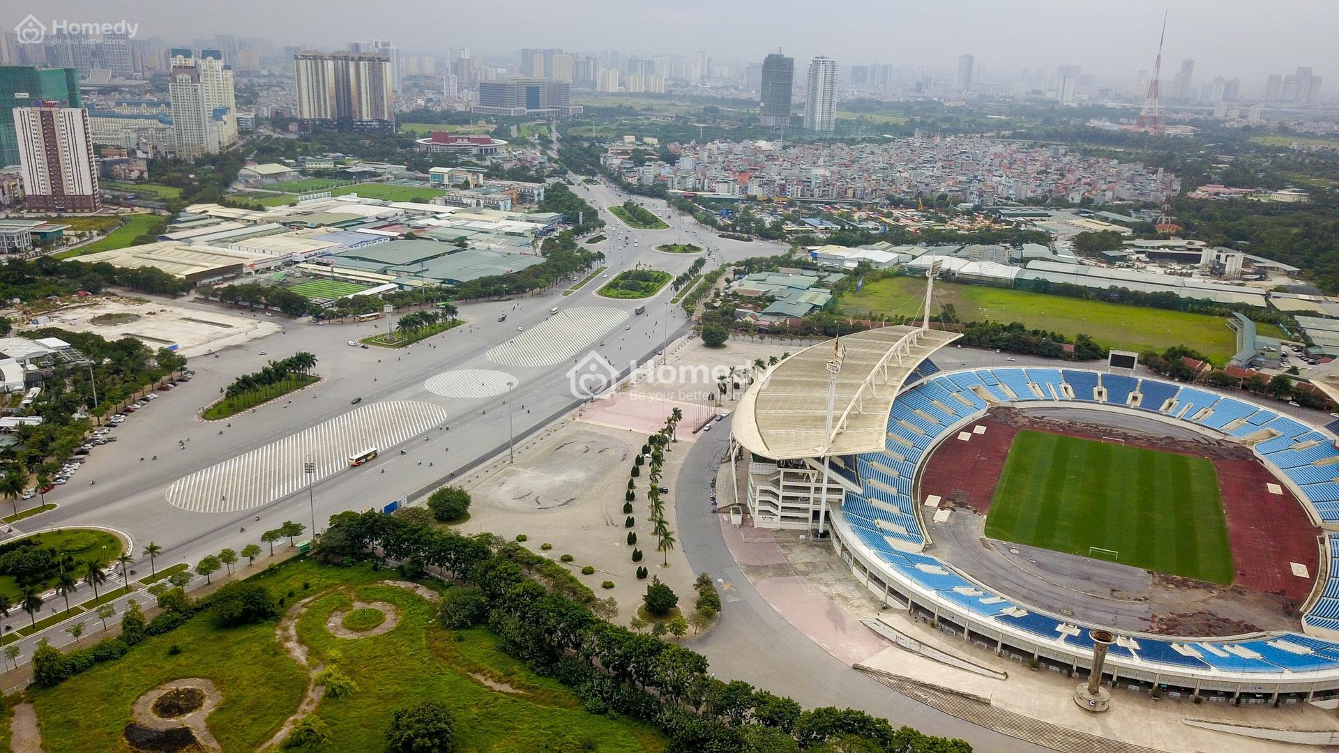 Giá nhà đất phía Tây Hà Nội đang kích thích mạnh nhờ đường đua F1?