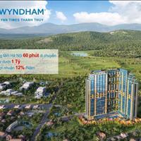 Bán căn hộ khách sạn khoáng nóng 5 sao Wyndham Thanh Thủy - Phú Thọ giá 950 triệu