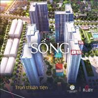 Siêu phẩm Căn hộ 3PN (100m2) khu Ruby tòa R1.05 - View biển hồ, kề bên khu biệt thự triệu đô !