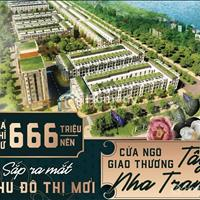 [Bảng hàng đợt 1] Còn duy nhất 6 lô đất nền khu đô thị mới phía tây Nha Trang