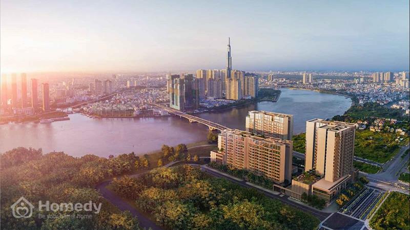 Dự án The River Thủ Thiêm Quận 2 - ảnh giới thiệu