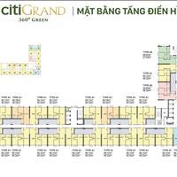 Đại lý DKRA Vietnam nhận giữ suất giai đoạn 1 Căn hộ Quận 2 - CitiGrand   2.1 tỷ căn 2PN