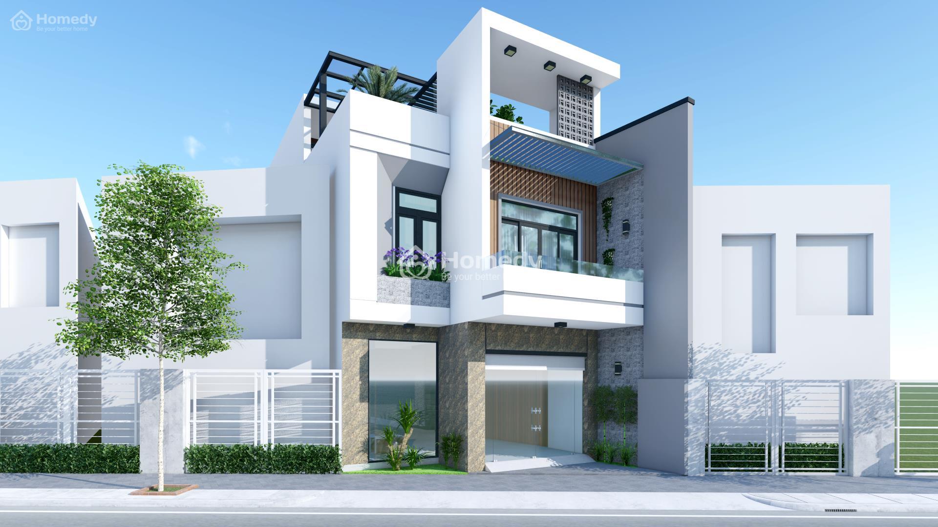 Nhà mặt phố 2 tầng