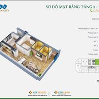 Bán căn hộ 2 phòng ngủ chỉ 913 triệu tại Hà Đông - FLC Garden City Đại Mỗ