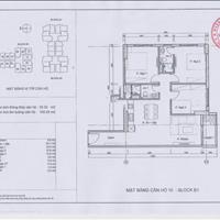 Chính chủ bán căn góc 92.52m2 giá 28.5tr/m2 ban công Đông Nam, chung cư Sky Central 176 Định Công
