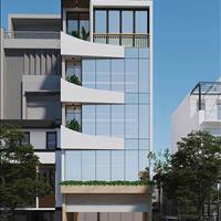 Cho thuê toà nhà lô góc 5 tầng có hầm để xe, thang máy riêng