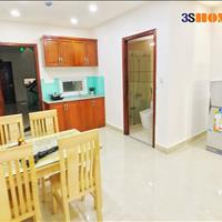 Cho thuê căn hộ dịch vụ quận Tân Bình 55m2, full nội thất có ban công ngay sân bay