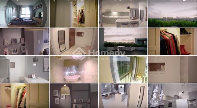 Một số hình ảnh về căn hộ của nam ca sĩ trẻ tài năng