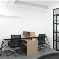 Văn phòng giá rẻ team 4 - 7 người, đầy đủ bàn ghế, Trần Não, Quận 2