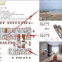 Dự án Citadines Marina Hạ Long – Bán cắt lỗ căn Studio hướng Đông Nam view biển A21.08 giá 1,7 tỷ