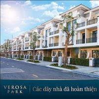 Sở hữu nhà phố 1 trệt 3 lầu dự án Verosa Park Khang Điền chỉ từ 10.5 tỷ/căn