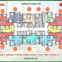 Cần bán gấp căn hộ 62m2 view nội khu, dự án Mipec Kiến Hưng, hỗ trợ vay 70%