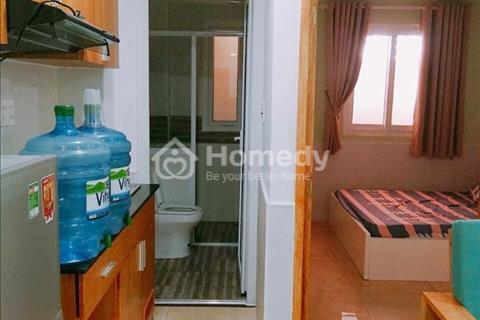 Cho thuê căn hộ 120 Trần Bình Trọng, Quận 5, 1 phòng ngủ, 1 phòng khách riêng biệt, giá siêu rẻ