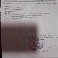 Bán đất thành phố Tam Kỳ - Quảng Nam giá 500 triệu