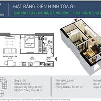 Bán căn hộ quận Hai Bà Trưng - Hà Nội giá 1.6 tỷ