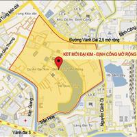 Suất ngoại giao liền kề khu đô thị Đại Kim - Định Công mở rộng giá gốc ký hợp đồng trực tiếp CĐT