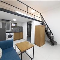 Cho thuê căn hộ gác lửng, full nội thất máy giặt riêng ngay cầu Công Lý, quận 3