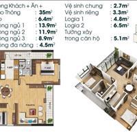 Căn hộ cao cấp 3 phòng ngủ view công viên Sài Đồng, dự án TSG Lotus Sài Đồng