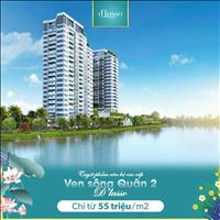 Mở bán đợt 1 căn hộ D'lusso chỉ 48tr/m2, 1 - 2 PN ngay trung tâm quận 2, CK đến 150 - 250 triệu