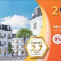 20 lô liền kề siêu VIP Việt Phát South City chỉ từ 2.7 tỷ đồng chính sách cực sốc tháng 5/2020