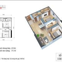 Bán căn hộ 2 phòng ngủ tòa CT1 Eco Green - Giá 1.975 tỷ