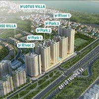 Bán căn hộ mới 2 phòng ngủ, ngay cầu Đông Trù, - Hà Nội giá 440 triệu