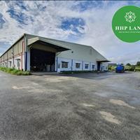 Cho thuê/bán 1ha khu nhà xưởng nằm trong cụm khu công nghiệp Thạnh Phú mặt tiền đường