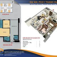 Bán căn hộ 2 phòng ngủ 2 WC 1 ban công full nội thất CĐT trung tâm quận Thanh Xuân, giá 1,9 tỷ