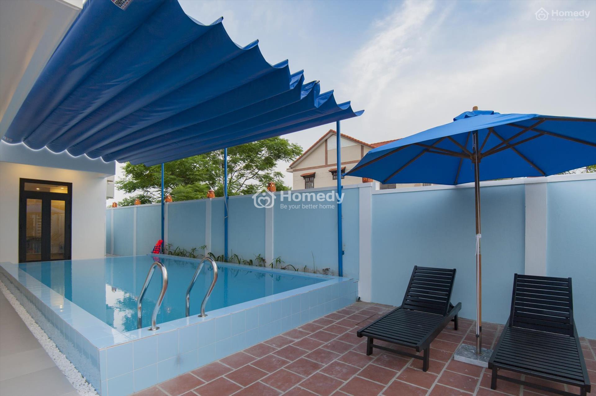 Xây bể bơi gia đình giá rẻ bất ngờ, giải nhiệt mùa hè