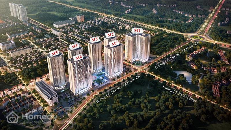 Dự án Mipec City View - Mipec Highrise Hà Đông - ảnh giới thiệu