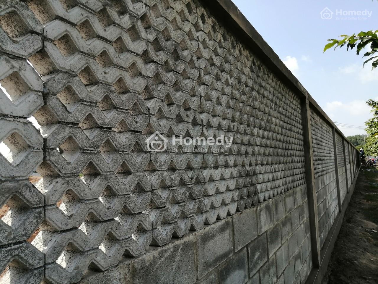 Mẫu gạch block 8 lỗ xây tường rào