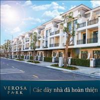 Mở bán nhà phố, biệt thự Verosa Park, Khang Điền, Quận 9, chiết khấu 18%/năm, HT vay 0%/12 tháng
