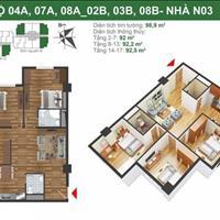 Bán căn hộ quận Hoàng Mai - Hà Nội giá 27 triệu/m2