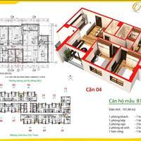 Bán chung cư Thanh Xuân, 102m2, căn góc, tầng trung, giá 31 triệu/m2 ( 3 ban công)