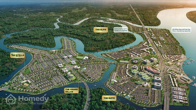 Khu đô thị Aqua City - ảnh giới thiệu