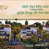 Biệt thự vườn Saigon Garden Riverside Quận 9 Hưng Thịnh Corp vị trí đắc địa 3 mặt giáp sông