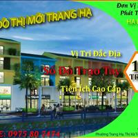 Sổ đỏ trao tay nhận ngay đất nền dự án khu đô thị mới Trang Hạ