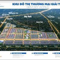 Đất nền, nhà phố liền kề ngay mặt tiền tại trung tâm thương mại 5 tầng lớn nhất sân bay Long Thành