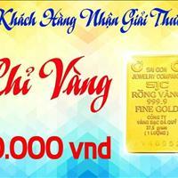 Còn 10 suất tặng vàng cho 10 khách hàng giao dịch đầu tiên KDC Tên Lữa Mở Rộng - Bình Tân