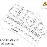 Mở bán 15 lô đất nền 60-100m2, từ 600 triệu, sổ đỏ sẵn, thôn Sen Trì xã Bình Yên