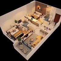 Duy nhất 1 căn 2 phòng ngủ 85m2 Monarchy Đà Nẵng giá tốt 06/2020, phù hợp cho gia đình 3 - 4 người