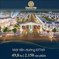Đất nền Bình Sơn Century City, mặt tiền ĐT 769 cách cửa ngõ sân bay Long Thành chỉ 3km chỉ 14tr/m2