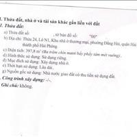 Cần bán đất tại phường Đằng Hải, quận Hải An, Hải Phòng, giá tốt