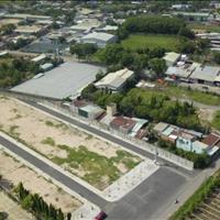 Lô góc 2 mặt tiền đường 40m sổ hồng riêng thổ cư 100% nằm trong khu dân cư