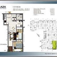 Khách mua nhà phố, nên bán gấp căn hộ sân bay, 2 phòng ngủ, 55m2, 2 tỷ