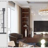 Tây Hồ Residence căn 2 phòng ngủ - city view Hồ Tây, giá VAT 3,353 tỷ full nội thất - CK 3,9%